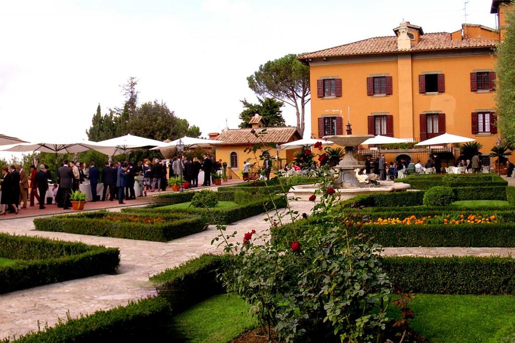 casal romito catering cerimonie in villa